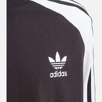 adidas Kids' 3-Stripe Long Sleeve T-Shirt
