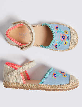Marks and Spencer Kids Espadrille Sandals (5 Small - 12 Small)