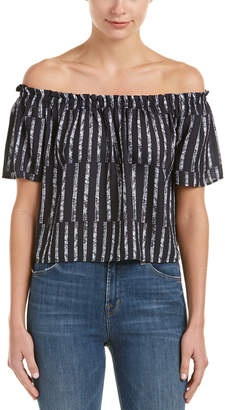Eight Sixty Off-The-Shoulder Blouse