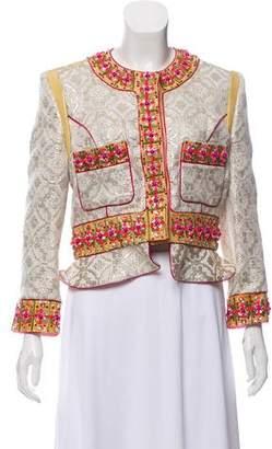 Matthew Williamson Embellished Brocade Jacket