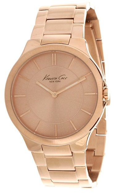 Kenneth Cole New York - KC4877 (Rose Gold Dial) - Jewelry