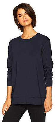 Daily Ritual Women's Terry Cotton and Modal Tie-Back Sweatshirt