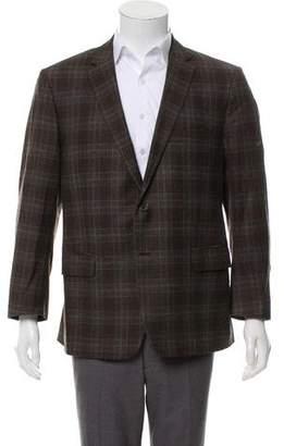 Etro Wool Checkered Jacket