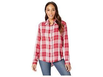 Wrangler Western Long Sleeve Snap Plaid Shirt