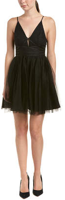 BCBGeneration Tulle A-Line Dress