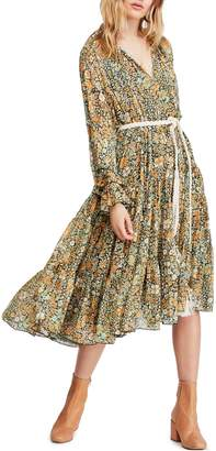 Free People Feeling Groovy Midi Dress
