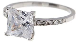 Covet CZ Princess Ring