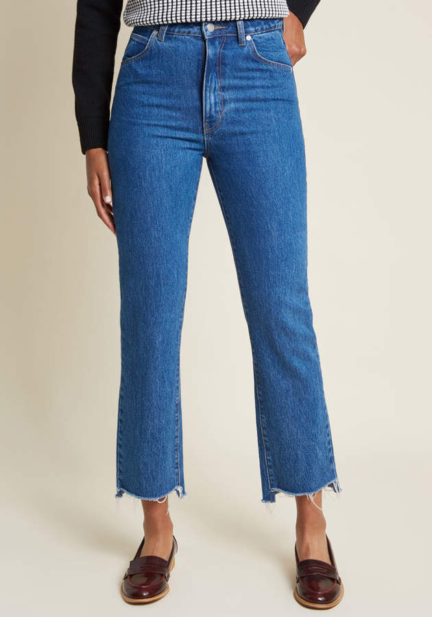 Threebyone Usa - Rolla's Find a New Fray Straight-Leg Jeans