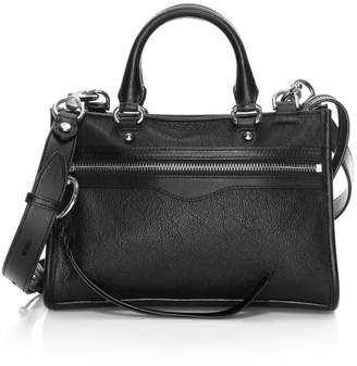 Rebecca Minkoff Bedford Micro Leather Zip Satchel