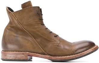 Moma ankle lace-up boots