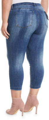 Ralph Lauren Swat Fame Cropped Straight-Leg Jeans, Plus Size