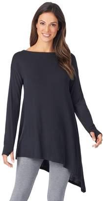 Cuddl Duds Women's Softwear with Stretch Long Sleeve Asymetrical Tunic