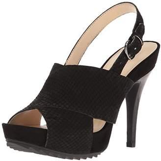 Nine West Women's Rayna Nubuck Dress Sandal