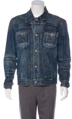 G Star 3301 Denim Button-Up Jacket