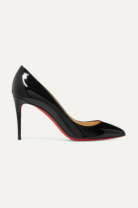 249c850b8c Christian Louboutin Pigalle Follies 85 Patent-leather Pumps - Black