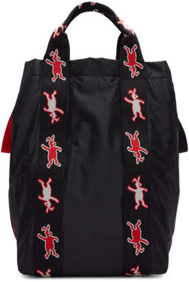 Marni Dance Bunny Black Bunny Icon Tote