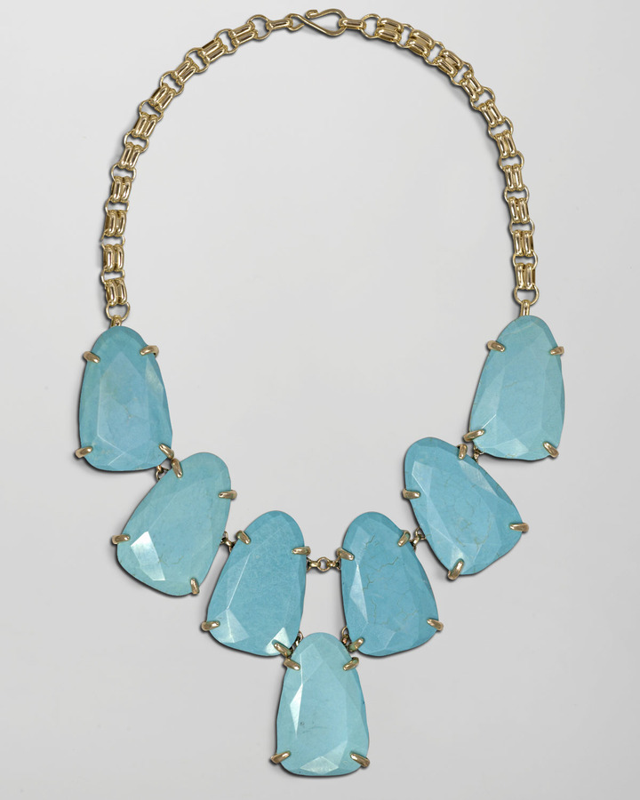 Kendra Scott Harlow Necklace, Turquoise