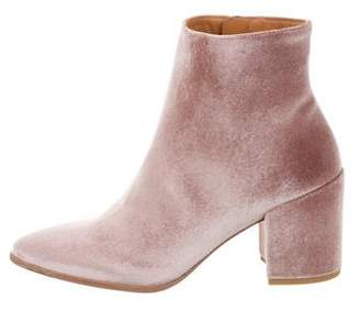 Stuart Weitzman Trendy Velvet Ankle Boots w/ Tags