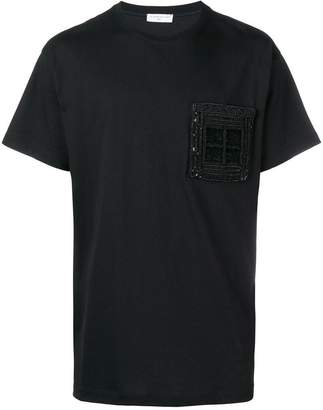 Ih Nom Uh Nit embellished pocket T-shirt