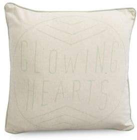 Grand Portage Glowing Hearts Outdoor Square Cushion