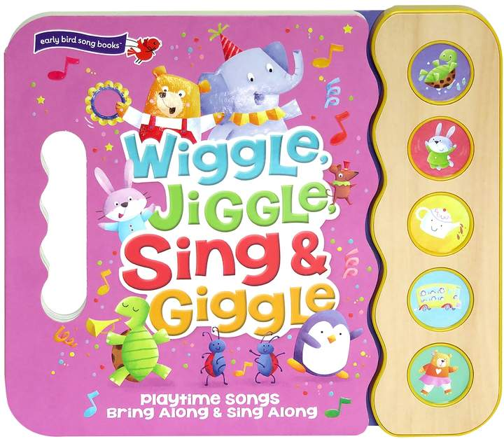 Cottage Door Press Wiggle, Jiggle, Sing & Giggle: Interactive Children's Sound Book (5 Button Sound)