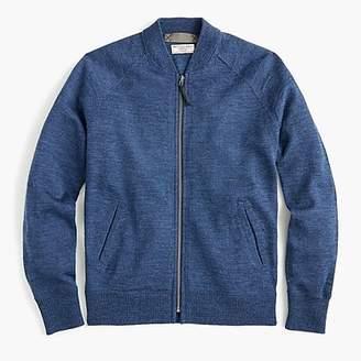 J.Crew Wallace & Barnes full-zip sweater in Italian wool