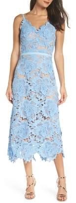 Jarlo Jayla 3D Lace Tea Length Gown