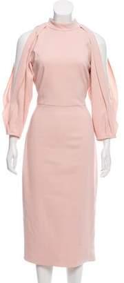 Cushnie et Ochs Long Sleeve Midi Dress w/ Tags