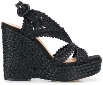 7e3871ad695 Paloma Barceló Mercedes wedge sandals