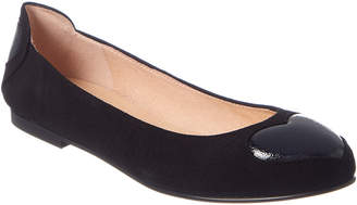 French Sole Seuss Suede Flat
