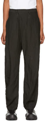 Julius Black Folding Baggy Trousers