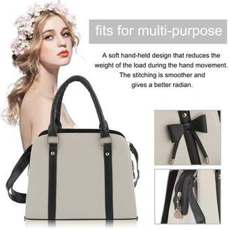 Fashionable Sunrain Trendy PU Leather Shopping Handbag Prevalent Korean Casual Style Shell Type Shoulder Bag For Women