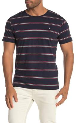 Jack and Jones Stanford Stripe Print T-Shirt