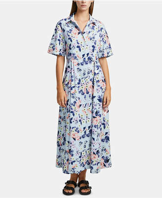 French Connection Cerisier Crepe Floral-Print Maxi Dress