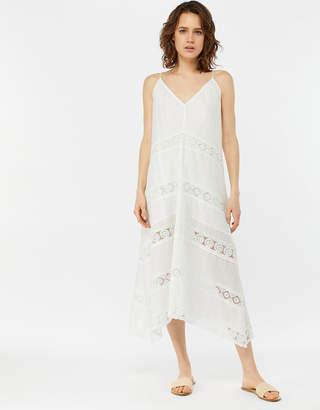 e5905bcfb5 Accessorize White Lace Insert Maxi Dress