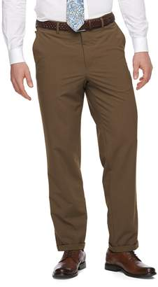 Croft & Barrow Men's True Comfort 4-Way Stretch Classic-Fit Flat-Front Dress Pants