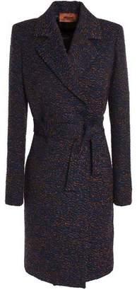 Missoni Belted Bouclé-Knit Coat