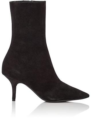 Yeezy Women's Distressed Suede Ankle Boots