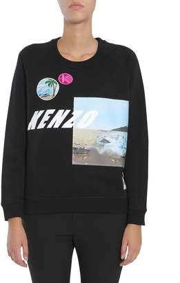 Kenzo Sweatshirt With Patches