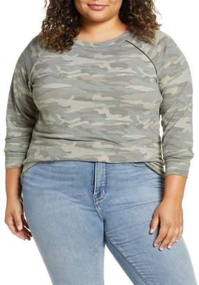 Caslon Cozy Sweatshirt (Plus Size)