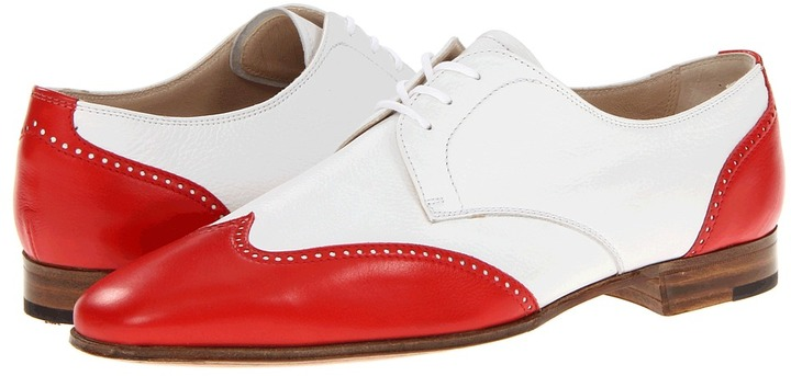 Gravati Wingtip Oxford (Red/White) - Footwear