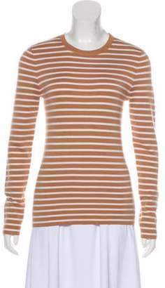 Michael Kors Striped Cashmere Sweater w/ Tags white Striped Cashmere Sweater w/ Tags