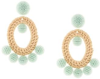 Sachin + Babi Panama seedbead earrings