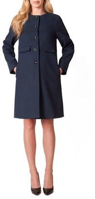 Women's Seraphine Celine Maternity Coat $259 thestylecure.com