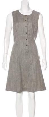 Theyskens' Theory Knee-Length Wool Dress