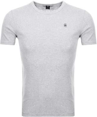 G Star Raw Daplin T Shirt Grey