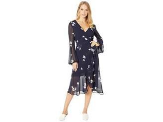 Bardot Wrap Poppy Dress