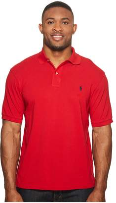 Polo Ralph Lauren Big and Tall Classic Fit Mesh Polo Men's Short Sleeve Knit