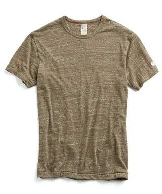 Todd Snyder + Champion Japanese Triblend Tee in Brown
