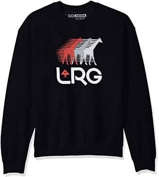 Lrg Men's Front Runners Crewneck Sweatshirt
